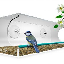 Vogelhaus für das Fenster von Urban Utopia