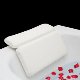 Laneta ZenHome Badewannenkissen – Nackenkissen Badewanne HYGIENISCHES Kissen Badewanne mit Premium Spezialschaumfüllung- Badewannenkissen Nacken – Badekissen – Wannenkissen